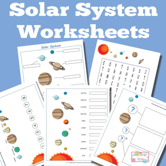 free printable solar system worksheets homeschool freebies educational freebies. Black Bedroom Furniture Sets. Home Design Ideas