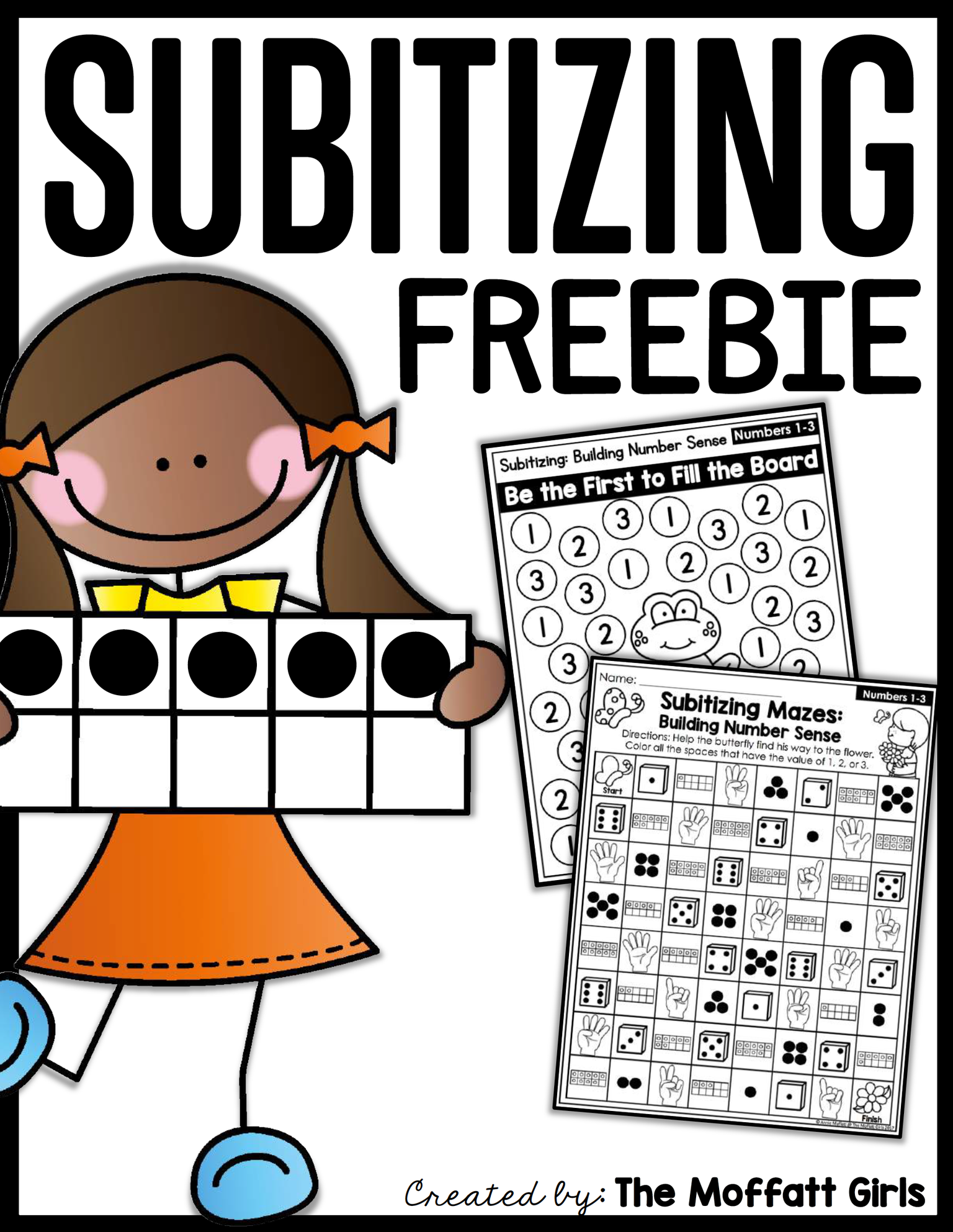 free subitizing sampler packet homeschool freebies educational freebies homeschooling world. Black Bedroom Furniture Sets. Home Design Ideas