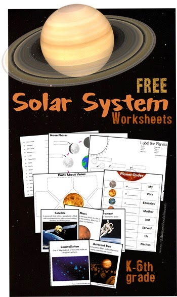 free solar system worksheets homeschool freebies educational freebies homeschooling world. Black Bedroom Furniture Sets. Home Design Ideas